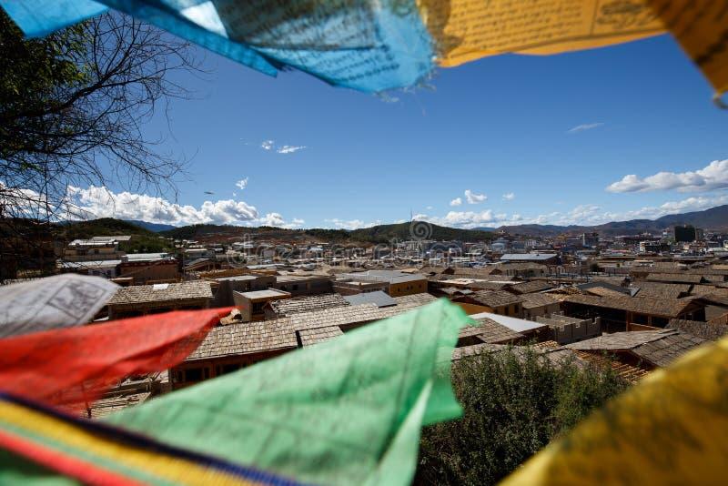 Download Shangrila, Il Yunnan, La Cina Ed Il Posto Vicino Fotografia Stock - Immagine di collina, bello: 56881604