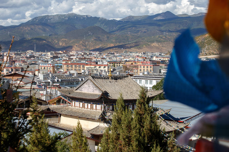 Download Shangrila, Il Yunnan, La Cina Ed Il Posto Vicino Immagine Stock Editoriale - Immagine di collina, storico: 56883884