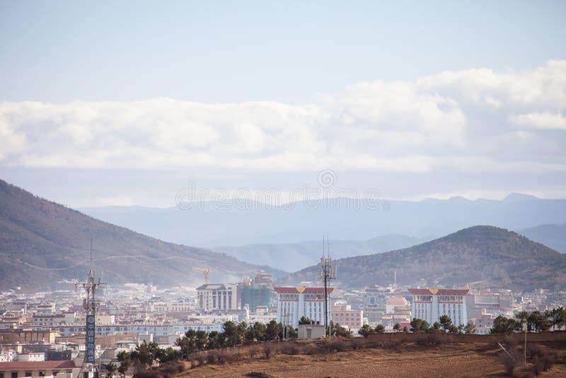 Shangrila, Yunnan, China stock afbeelding