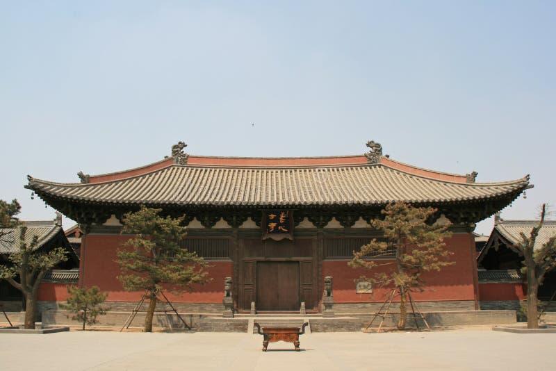 Shanhua monaster Datong, Chiny - zdjęcie royalty free
