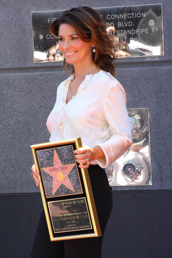 Shania Twain imagem de stock royalty free