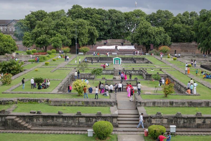 Shaniwarwadaruïnes, Pune, India royalty-vrije stock afbeeldingen