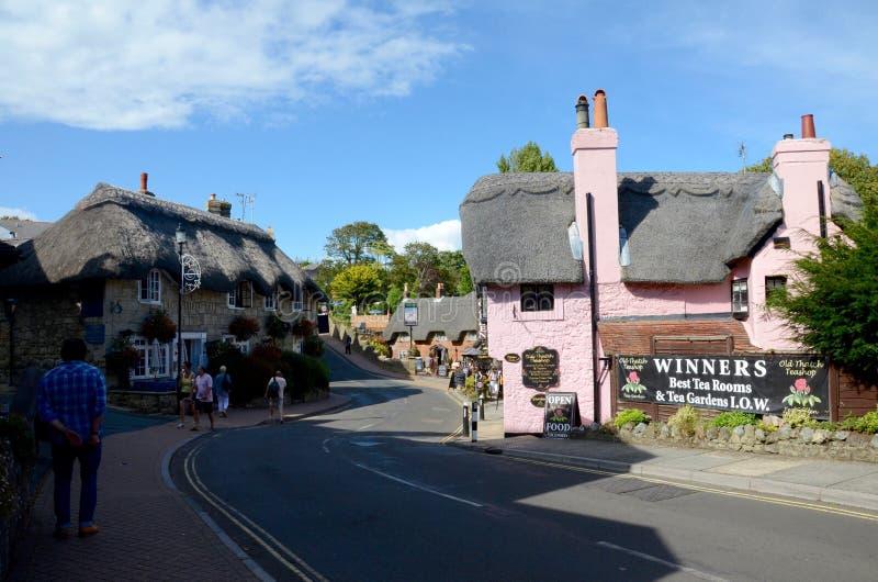 Shanklin, Insel von Wight lizenzfreie stockfotografie