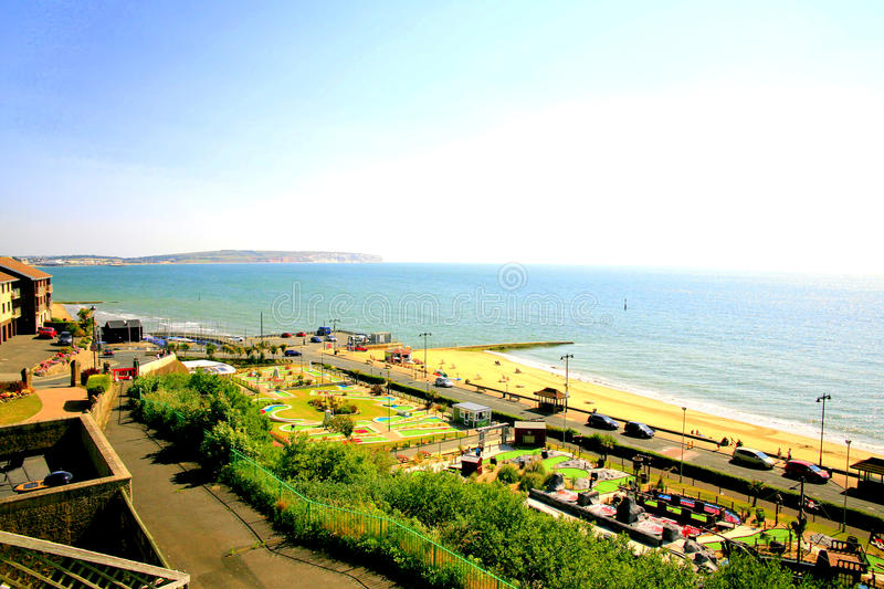 Download Shanklin, Isle of Wight. editorial stock image. Image of leisure - 37926839