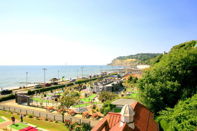 Download Shanklin, Isle of Wight. editorial stock photo. Image of walk - 37933018