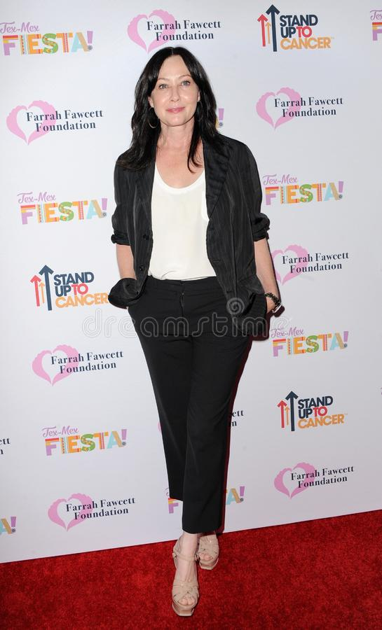 Shannen Doherty royalty free stock images
