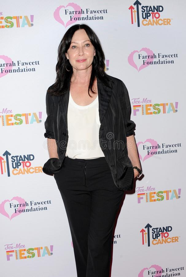 Shannen Doherty. At the Farrah Fawcett Foundation`s Tex-Mex Fiesta held at the Wallis Annenberg Center in Beverly Hills, USA on September 6, 2019 stock image