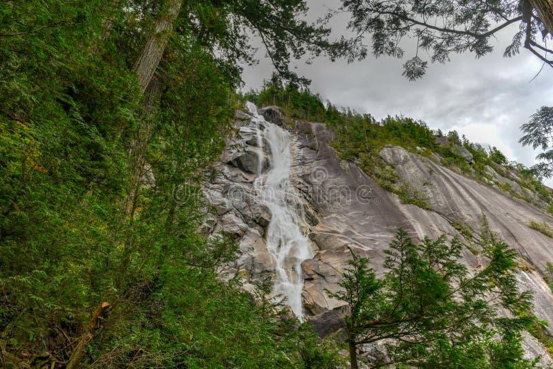 Shannon Falls - Columbia Britannica, Canada immagini stock