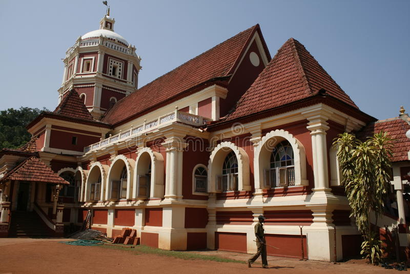 Shanta Durga Temple stock photography