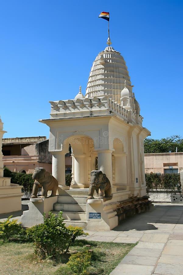 Shanti Nath, Oostelijke groep Tempels in Khajuraho royalty-vrije stock afbeeldingen