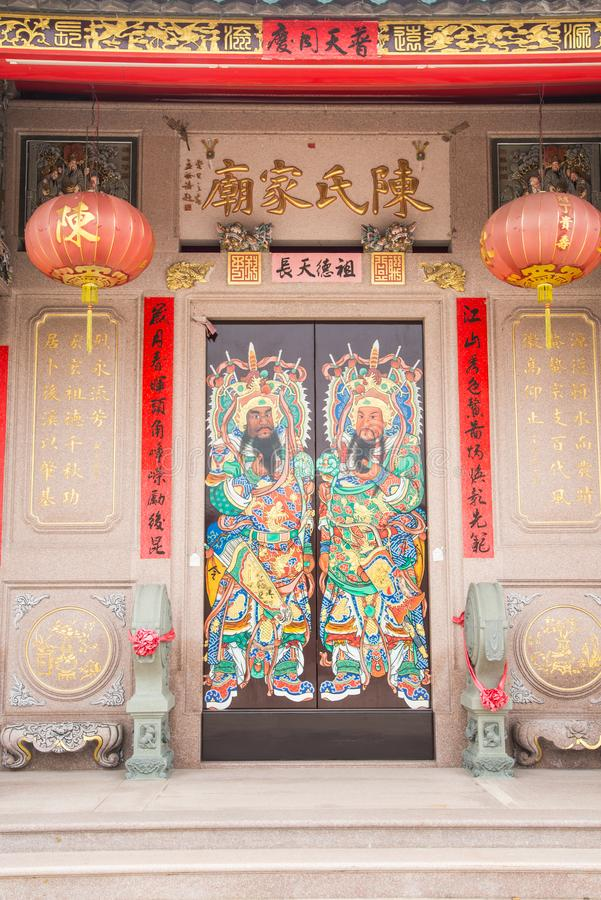 Free Shantou, China-October 21,2017: The Chinese Building Style, The Stock Images - 114949154