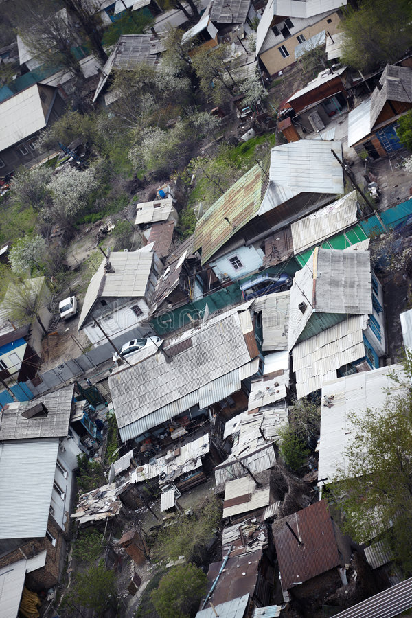 Shanty Town Royalty Free Stock Images