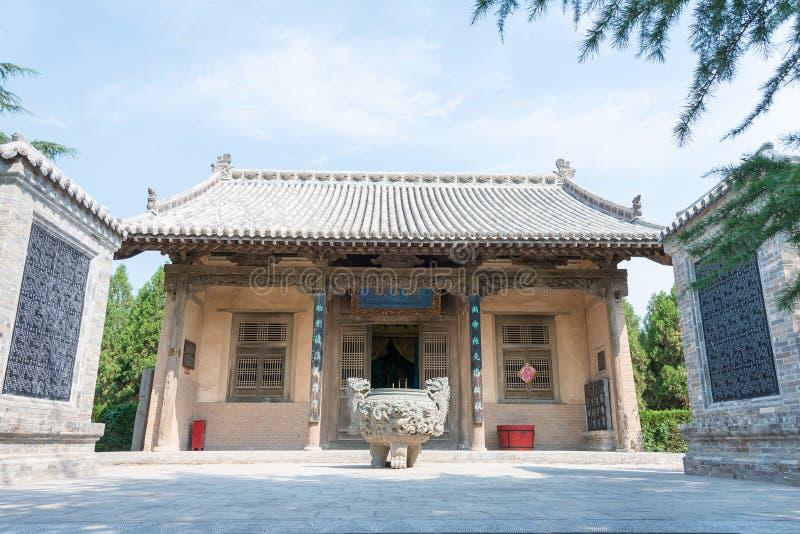 SHANXI, CHINA - 23. August 2015: Guangong-Tempel (Guandi-Tempel) an lizenzfreies stockbild