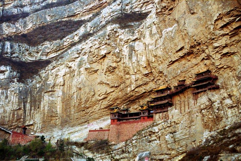 Shanxi Heng Świątynia, Chiny zdjęcie stock