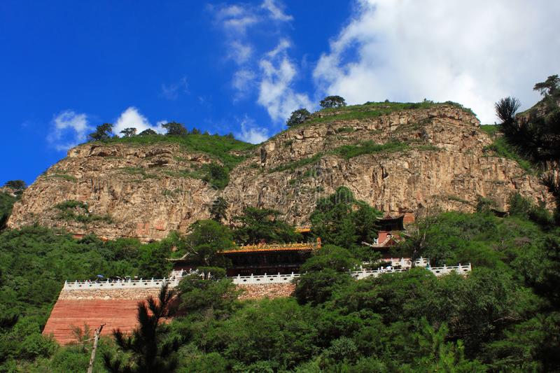 Shanxi Mt. Hengshan scenery stock images