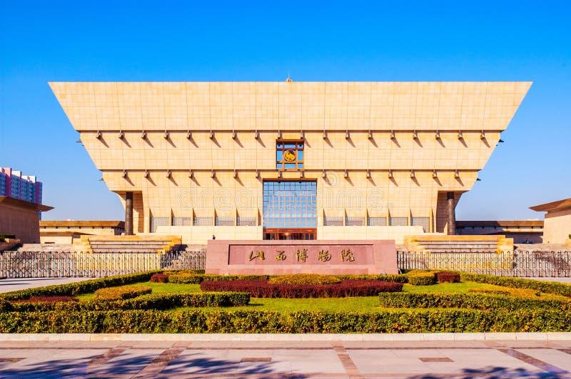Shanxi new province museum. Taken in Taiyuan, Shanxi, China royalty free stock photo