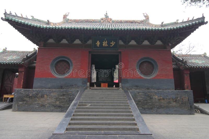 Shaolin świątynia, Chiny zdjęcie stock
