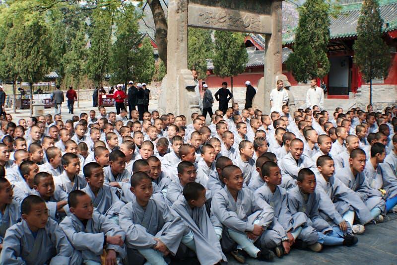 Shaolin świątynia w Songshan obrazy stock