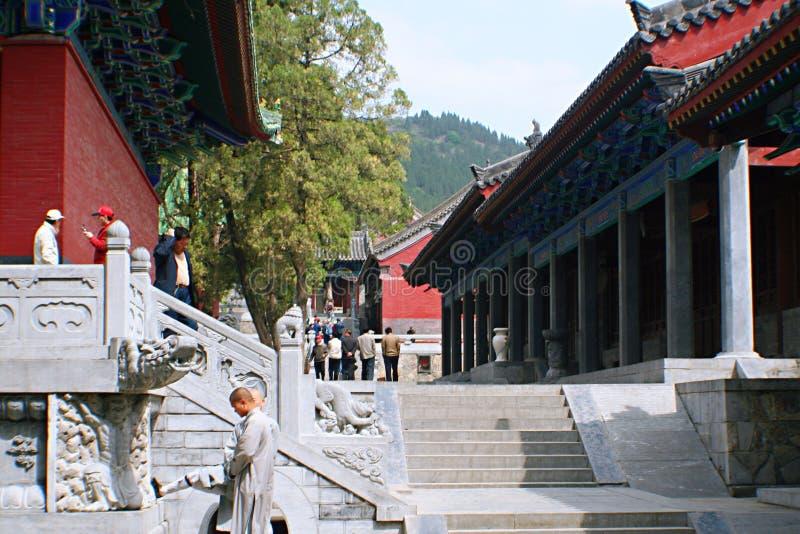 Shaolin świątynia w Songshan fotografia stock