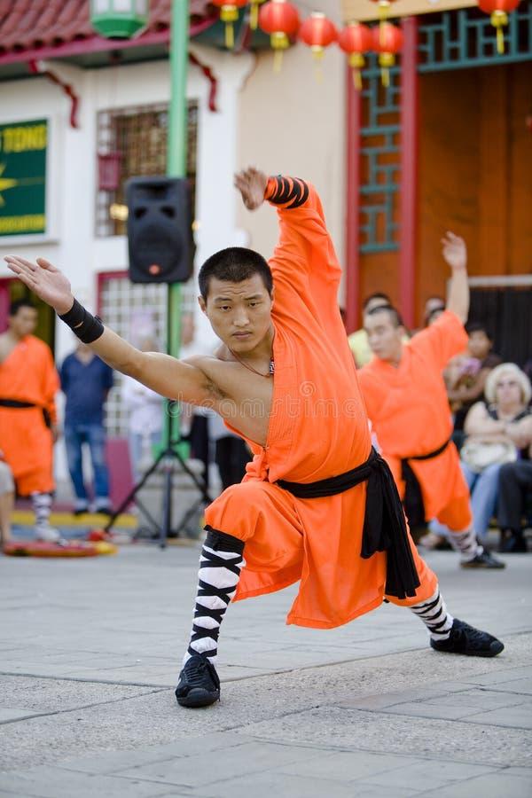 Shaolin Kung Fu 13 fotos de archivo libres de regalías