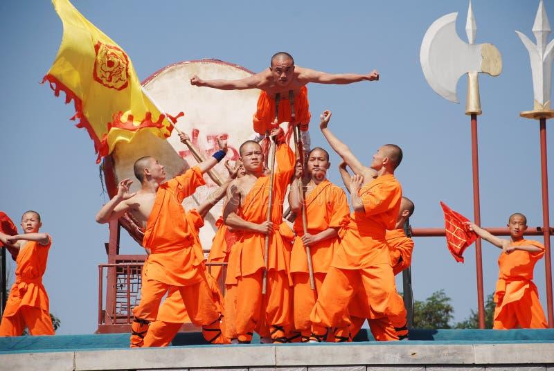 Shaolin-Kung-Fu lizenzfreies stockbild