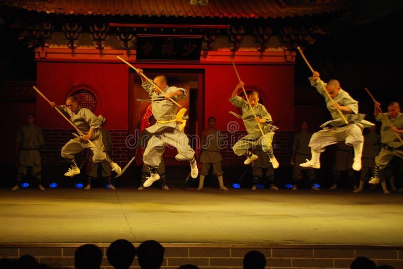 Shaolin Kung fu obrazy stock