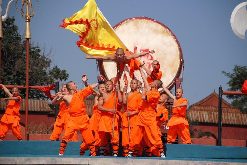 Shaolin Kung fu obraz stock