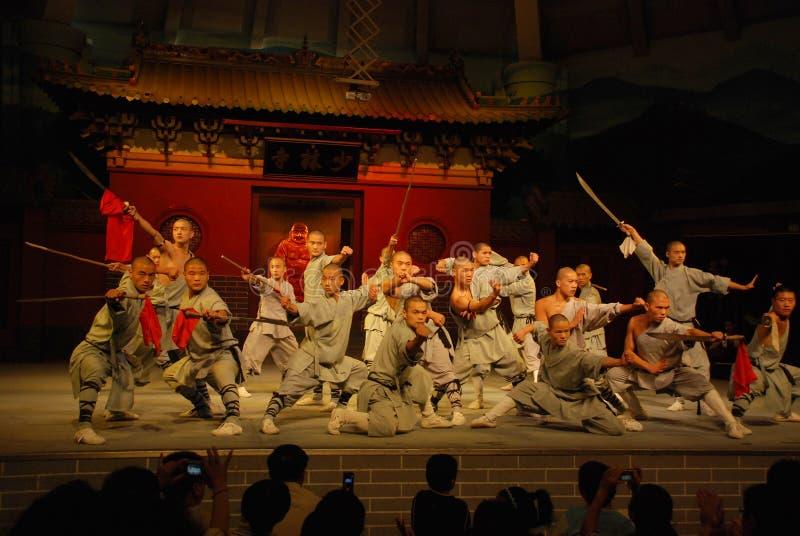 Shaolin Kungfu fotografia royalty free