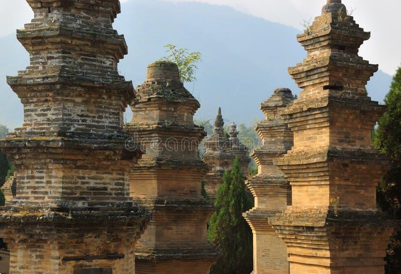 Shaolin Tempel stockfotos