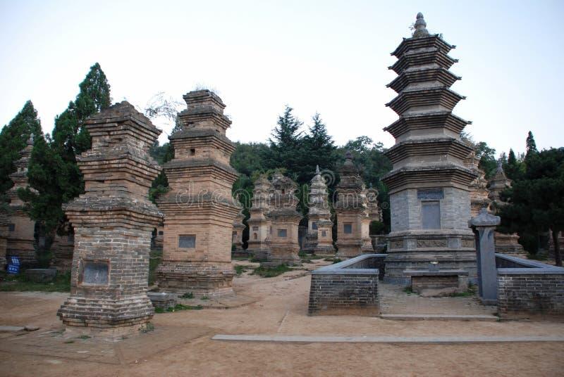 Shaolin Temple images libres de droits