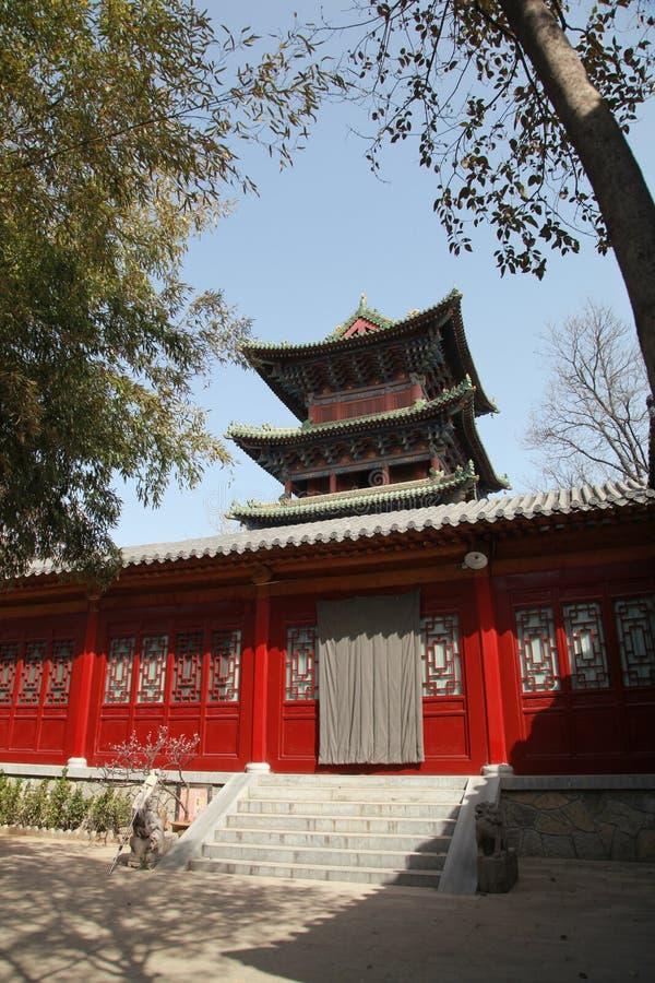 The shaolin temple royalty free stock photo