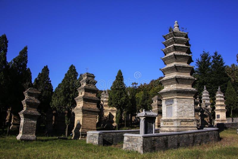 Shaolin Temple, China foto de stock royalty free