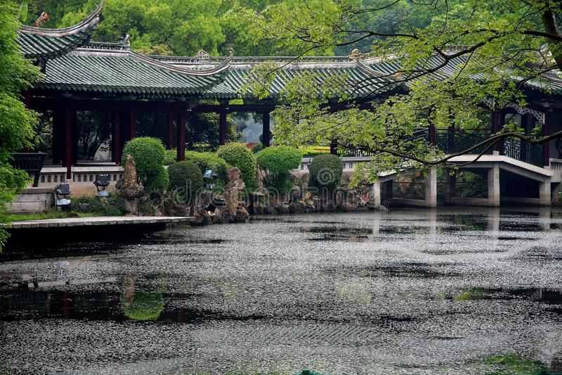 Shaoxing, Jhejiang, China fotografía de archivo