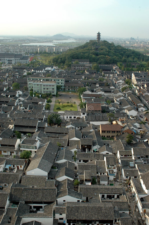 Download Shaoxing - Watertown, General View Stock Photo - Image: 5725308