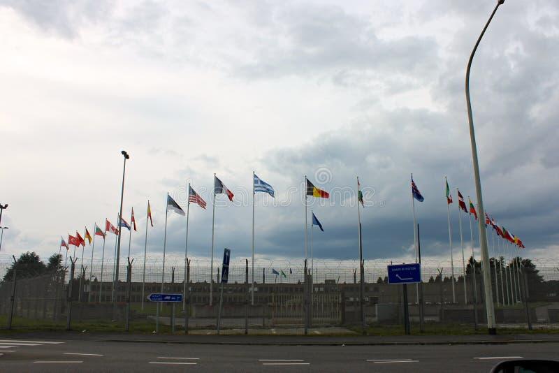 SHAPE, Μονς, Βέλγιο στοκ φωτογραφία με δικαίωμα ελεύθερης χρήσης