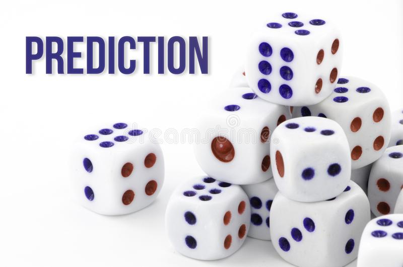Shape background pattern, good for graphic design. Business, white, number & devices. Prediction, gambling dice, chances game, business conceptual, isolated on stock photography