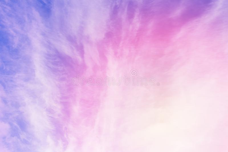 Pastel sky texture royalty free stock photo