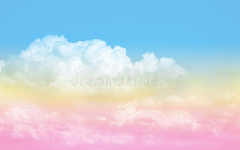 Pastel sky texture royalty free stock image