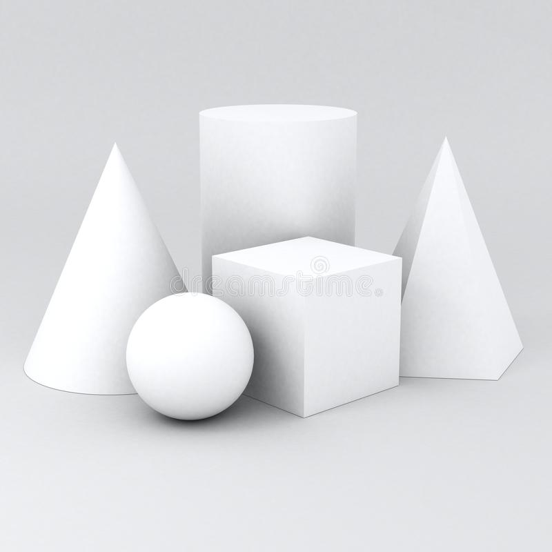 Shape geometry stock photo