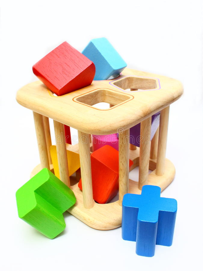 Shape Sorter Toy stock photos