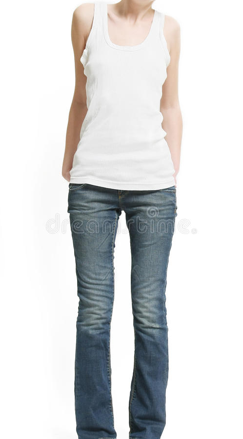 Download Shape of thin woman stock photo. Image of girl, thinness - 13602214