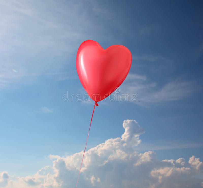 Download Shaped Balloon Heart stock image. Image of ball, romantic - 26569241