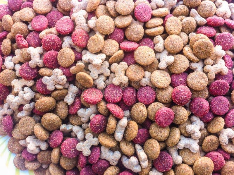 Shapeds d'aliments pour chiens photographie stock libre de droits