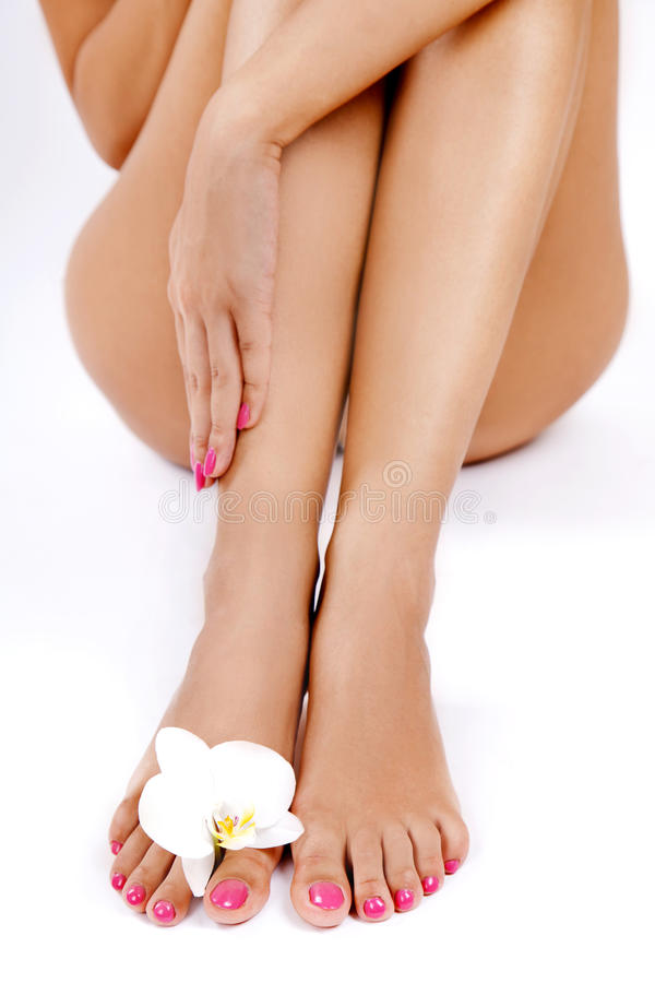 Download Shapely woman's legs stock photo. Image of body, relaxation - 27844822