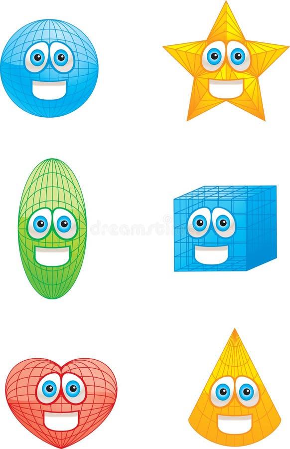 Shapes stock illustration