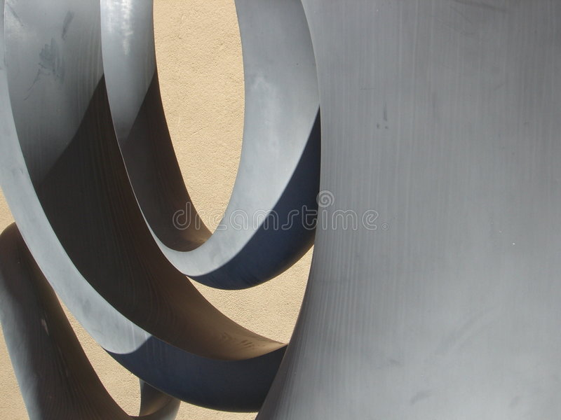 Download Shapes in sculpture II stock image. Image of close, shadows - 849711