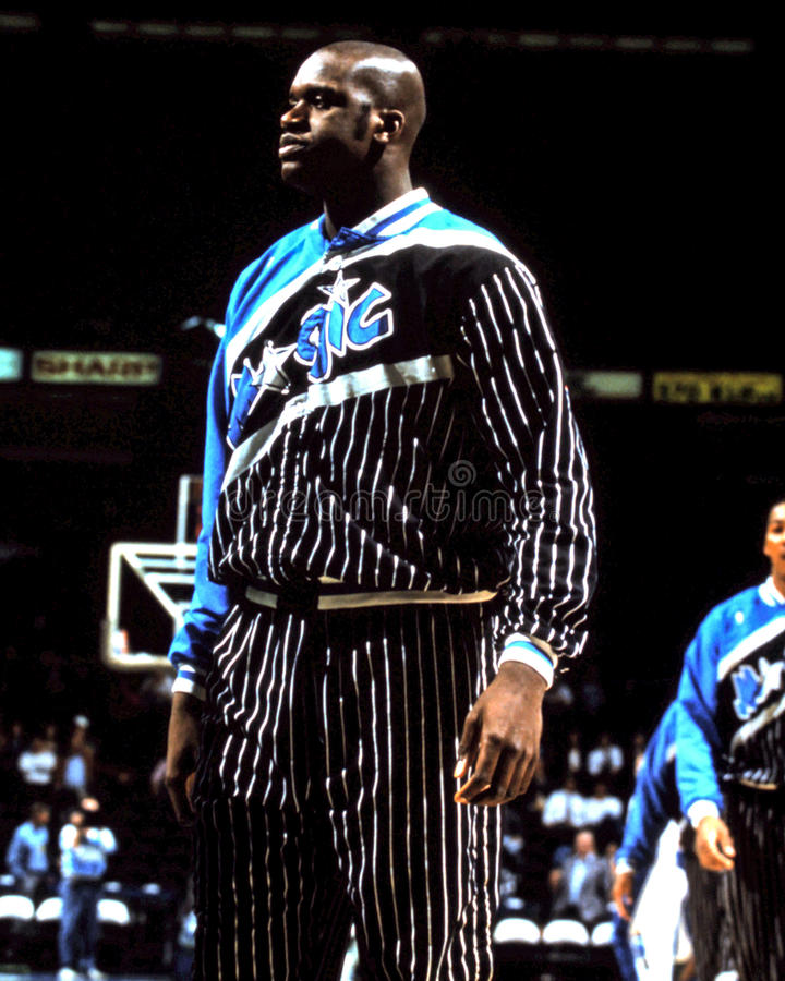 Shaquille O'Neal, Orlando Magic image stock