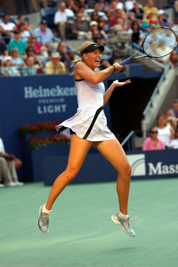 Sharapova Maria aux USA ouvrent 2007 (27) photos stock