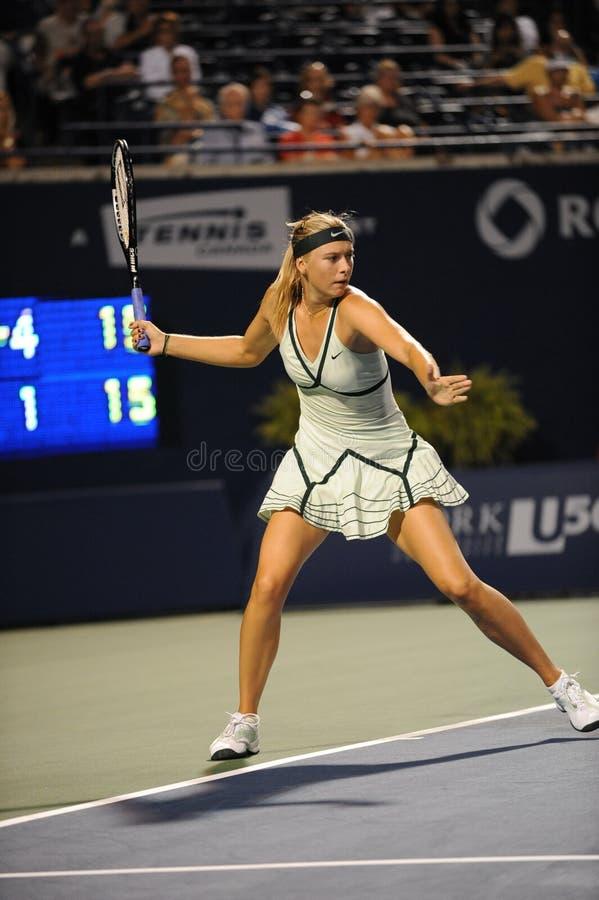 Sharapova Maria Rogers Cup 2009 (12) stock foto's
