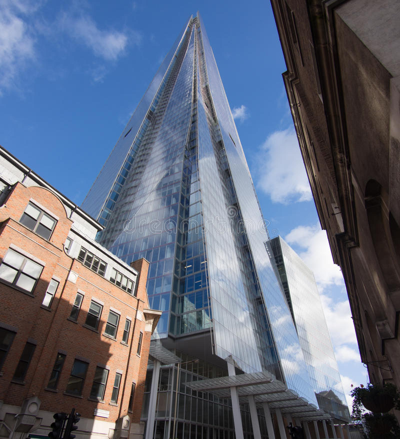 Skyscraper The Shard In London Royalty Free Stock Images